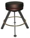 Round Cushion Backless Contour Stool Corner