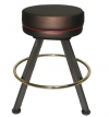 Round Cushion Backless Contour Stool Front