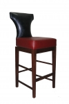 Custom Wood Bar Stool Front