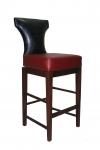 Custom Wood Bar Stool Front