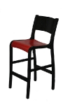 1000 Wood Bar Stool Front
