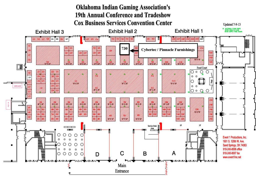 OIGA 2013 Map